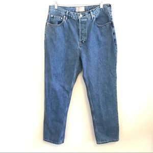 Everlane The 90s Cheeky Jean Button Fly High Rise